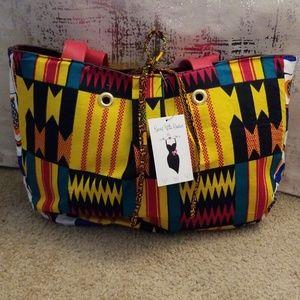 💜💗👍Fantastic African Bag